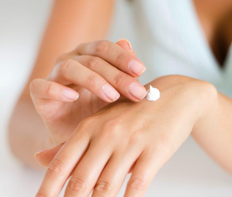 creme nagels handen allergie