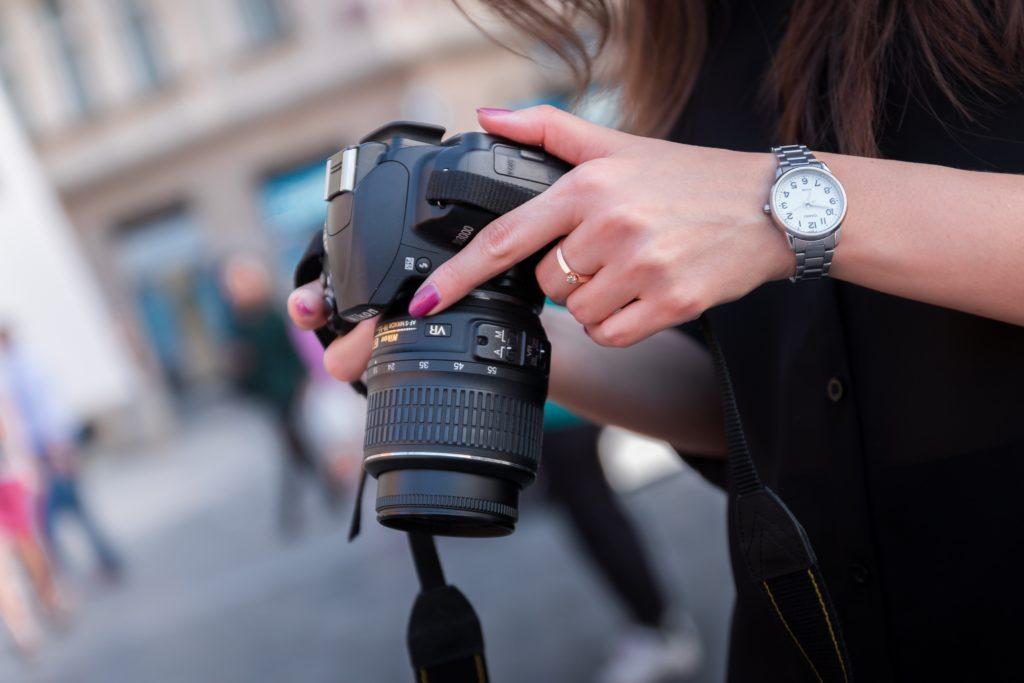 nagels camera fotoshoot