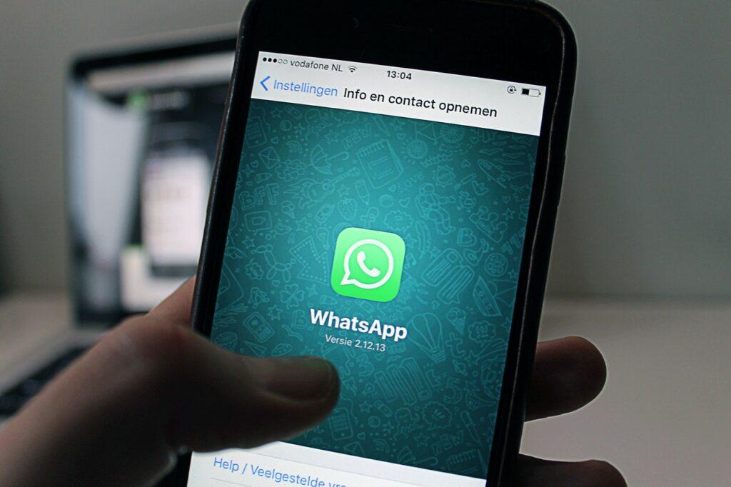 Whatsapp Business nagelstudio