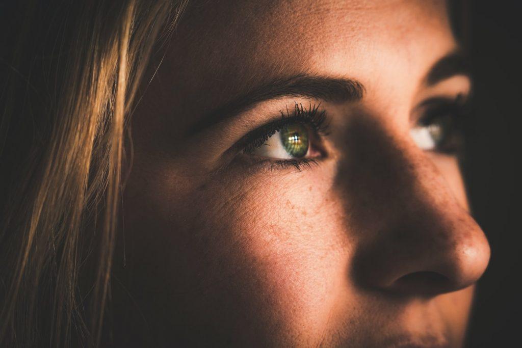Droge ogen nagelstylist
